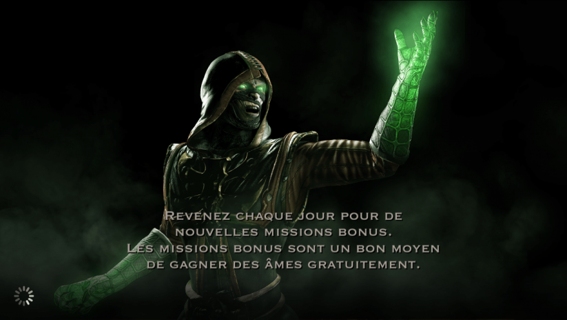 Missions bonus : Ermac