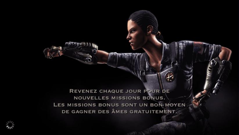 Missions bonus : Jacqui Briggs