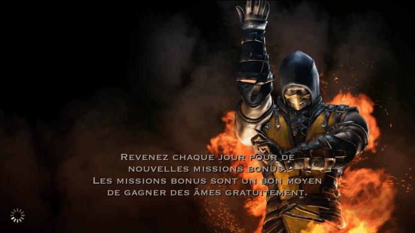 Missions bonus : Scorpion