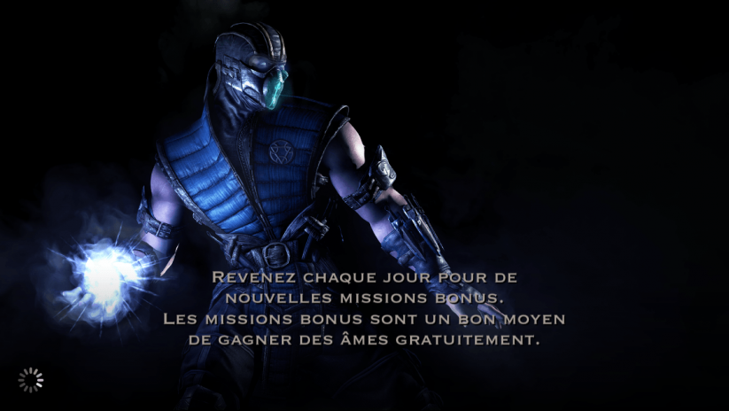Missions bonus : Sub-Zero