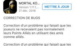 Mise à jour 1.11.1 : correction de bugs