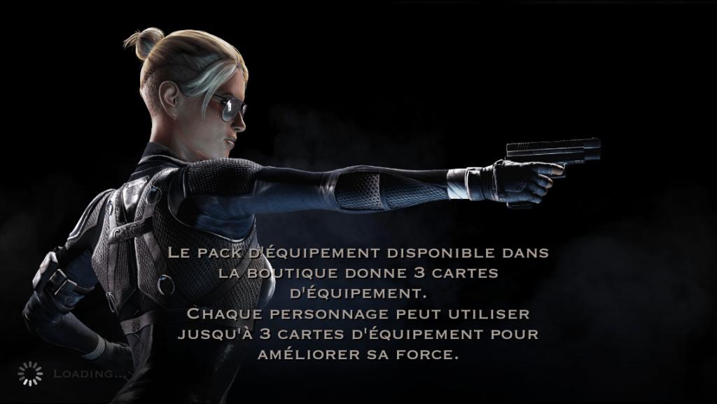 Pack d'équipement : Cassie Cage