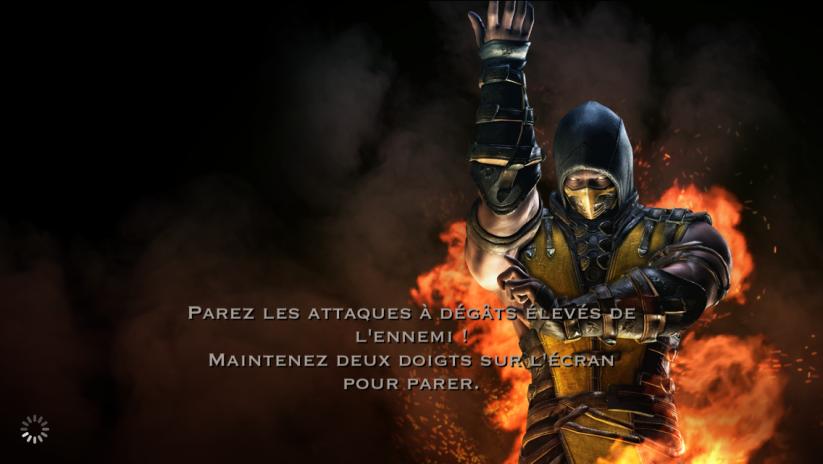 Parer les attaques : Scorpion