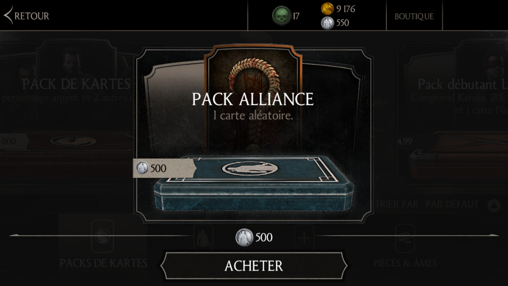 Pack alliance
