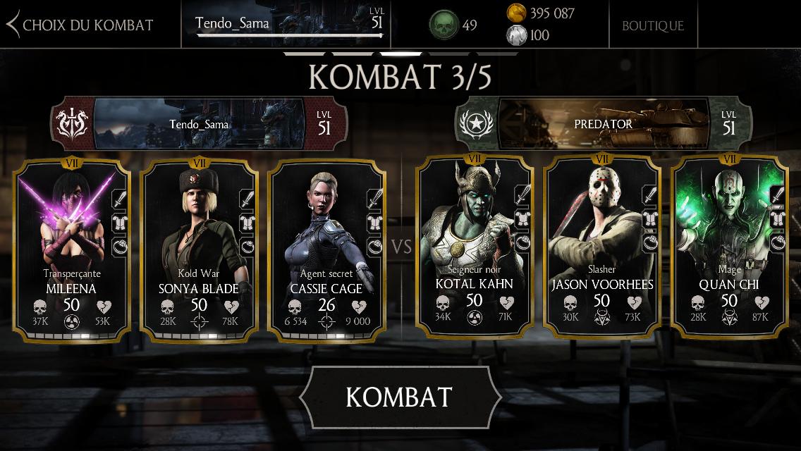 PREDATOR : tricheur à Mortal Kombat X