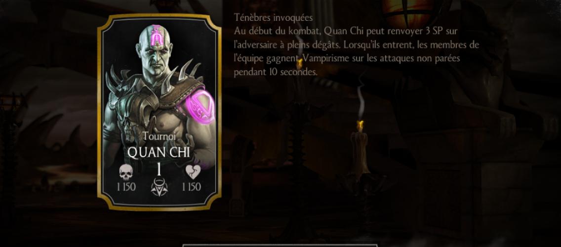 Quan Chi Tournoi