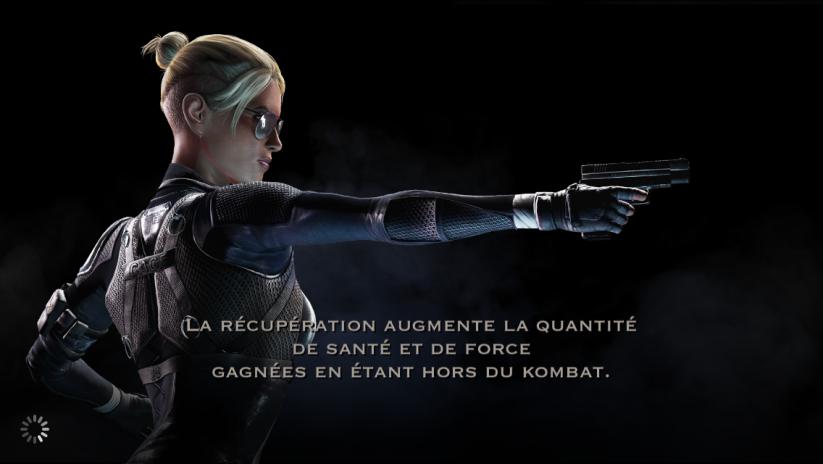 Récupération des personnages : Cassie Cage