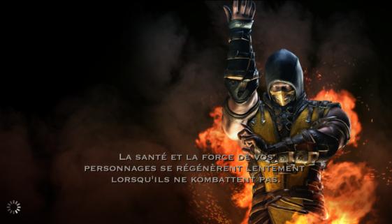 Régénération de santé et de force : Scorpion