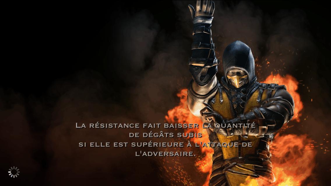 Résistance et dégâts subis : Scorpion