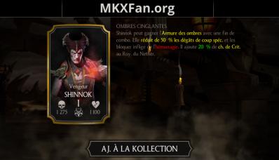Shinnok Vengeur