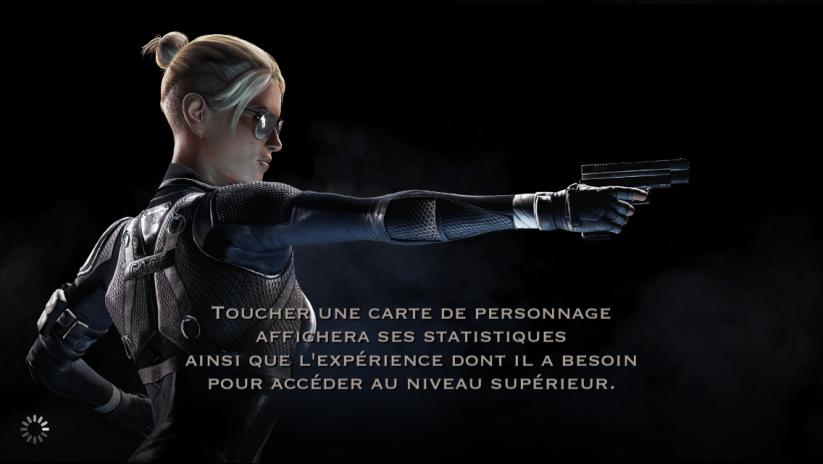 Statistiques et expérience d'un personnage : Cassie Cage