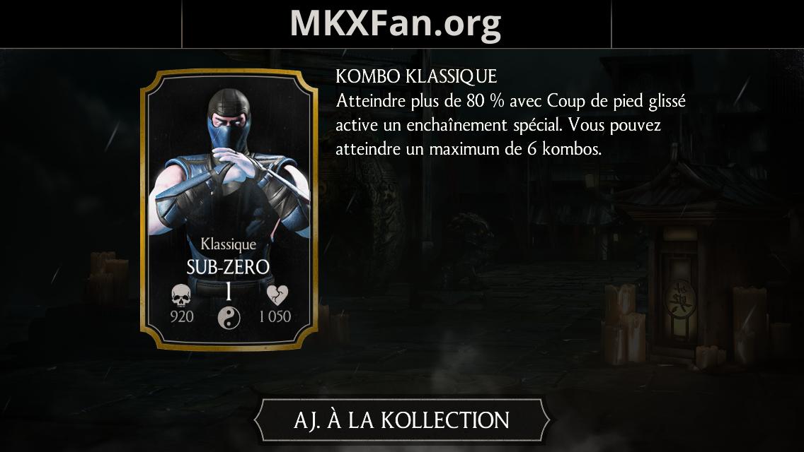 Sub-Zero Klassique