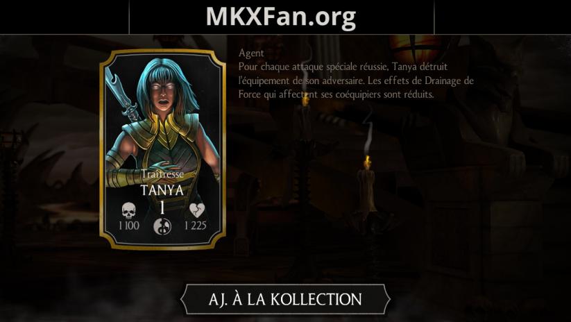 Tanya Traîtresse