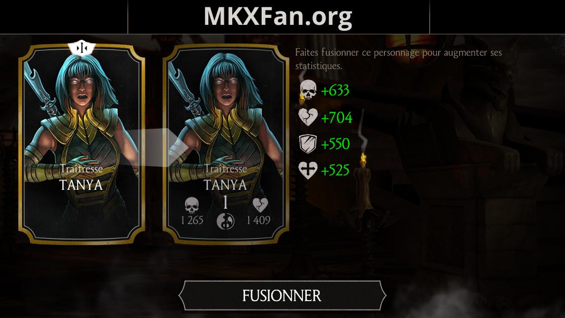 Tanya Traîtresse fusion 1